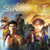 Shenmue I & II HD Game Covers